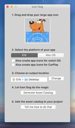 Icon Dog UI