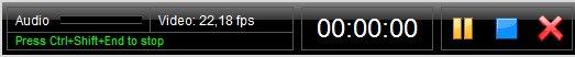 ActivePresenter toolbar